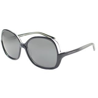 Dsquared 066 03A' Black Oversize Plastic Sunglasses