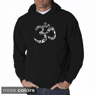 Men's 'Yoga Om' Hooded Sweatshirt