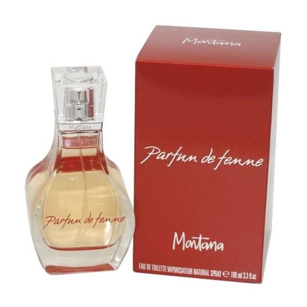 Montana Parfum de Femme Women's 3.3-ounce Eau de Toilette Spray