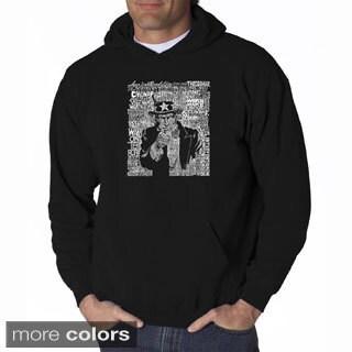 Men's 'Uncle Sam' Hooded Sweatshirt