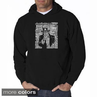 Men's 'Uncle Sam' Hooded Sweatshirt