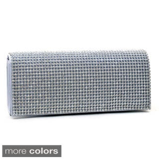 Dasein Rhinestone Embellished Evening Clutch