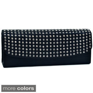 Dasein Dot Studded Evening Clutch