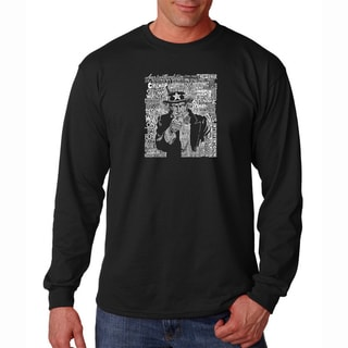 Men's 'Uncle Sam' Long Sleeve T-shirt