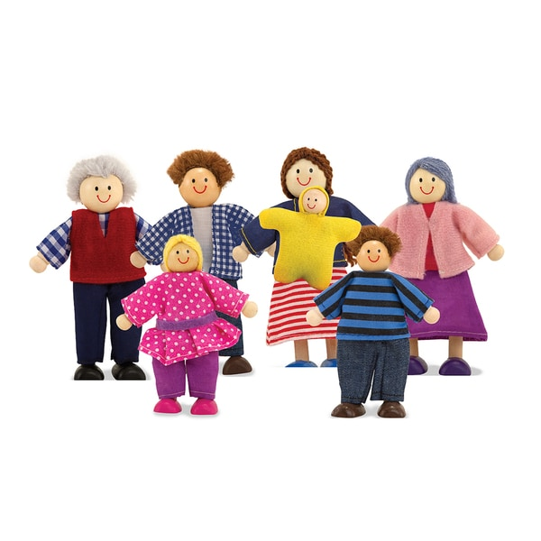 Melissa & Doug  Doll Family 12134387