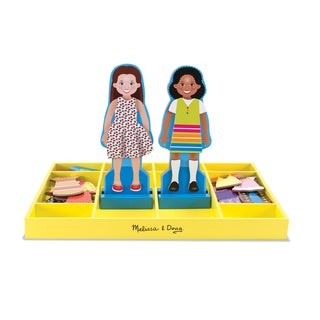 Melissa & Doug Chloe & Zoe Magnetic Dress-Up