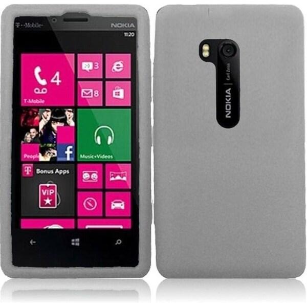 INSTEN Soft Silicone Phone Case Cover for Nokia Lumia 810