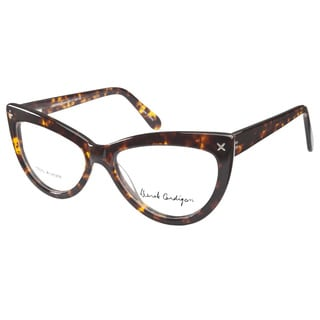 Derek Cardigan 7005 B Brown Tortoiseshell Prescription Eyeglasses