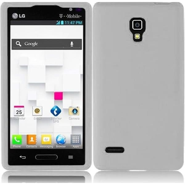 INSTEN Clear Soft Silicone Phone Case Cover for LG Optimus L9 P769T