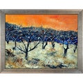 Pol Ledent 'Apple Trees in Winter' Framed Fine Art Print