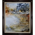 Pol Ledent 'Watercolor 114061' Framed Print Art