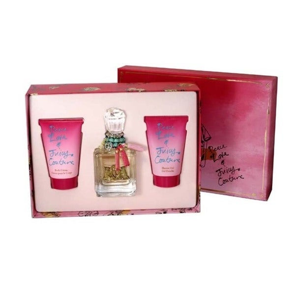 Juicy Couture Peace Love & Juicy Couture Women's 3-piece Gift Set