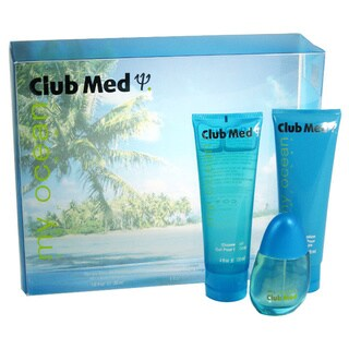 Coty Club Med My Ocean Women's 3-piece Gift Set