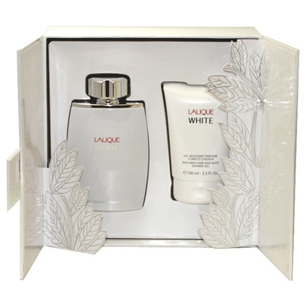 Lalique White Men's 2-piece Gift Set