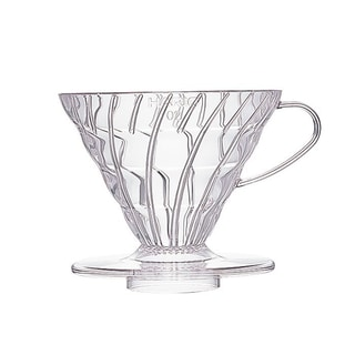 Hario V60 Resin Coffee Dripper Size 02 - Clear