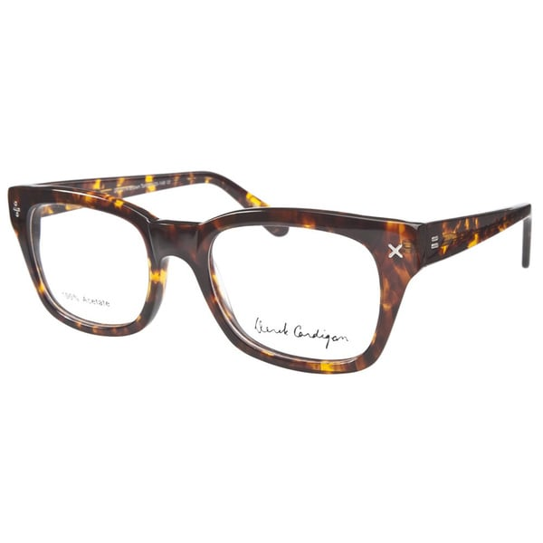 Derek Cardigan 7014 Brown Tortoiseshell Prescription Eyeglasses