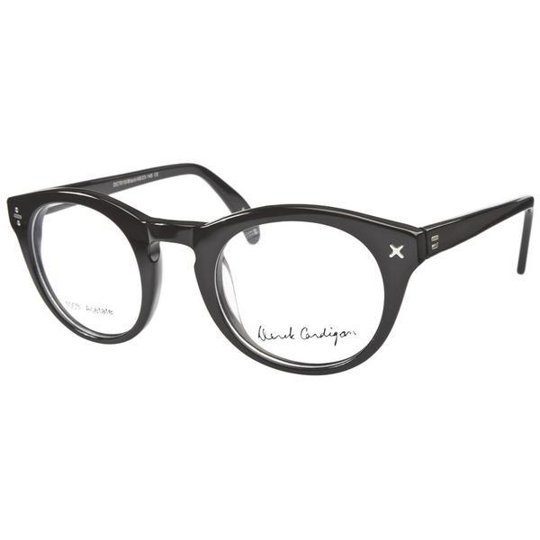 derek cardigan 7015 black prescription eyeglasses