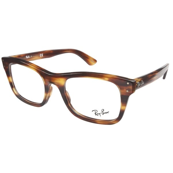 Ray-Ban RB5227 52 2144 Havana Prescription Eyeglasses