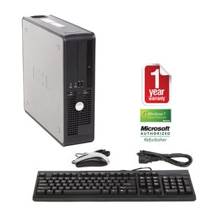 Dell OptiPlex 740 2.0GHz 2GB 250GB Win 7 SFF Computer (Refurbished)