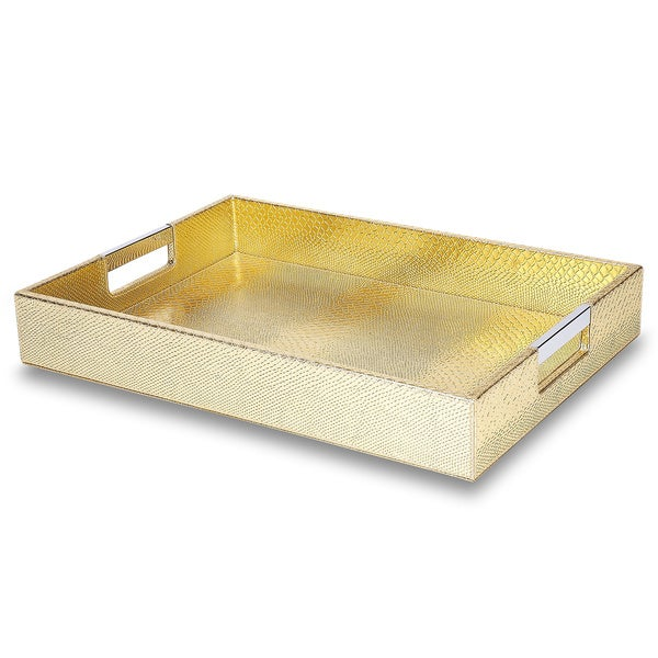 Impulse hollywood gold tray 15873816 overstock com shopping