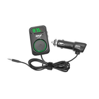Pyle PLFMT6 FM Radio Transmitter with Car Smartphone Connector