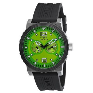 Invicta Men's 13645 Specialty Green Dial Day/Date Sports Watch