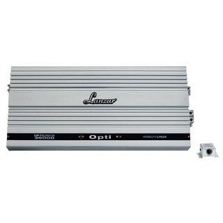 Lanzar OPTI3500D 3500 Watt Half Ohm Stable Mono Block MOSFET Digital Power Amplifier (Refurbished)