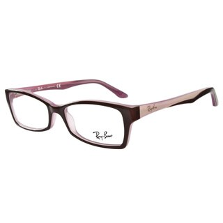 Ray-Ban RB5234 2126 Brown Pink Prescription Eyeglasses