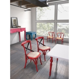 Baby Larkin Red Chair (set of 2)