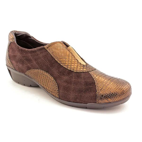 Women's Bella Vita Sigma Brown Suede/Print