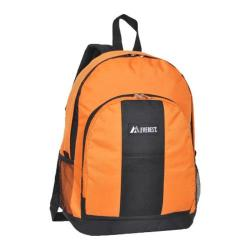 Everest Backpack with Front and Side Pockets (Set of 2) Orange