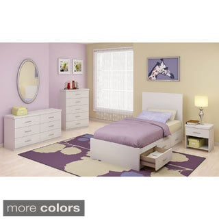 Sonax 4-piece Single Storage Bedroom Set