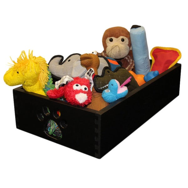 Dynamic Accents Black Pet Toy Box