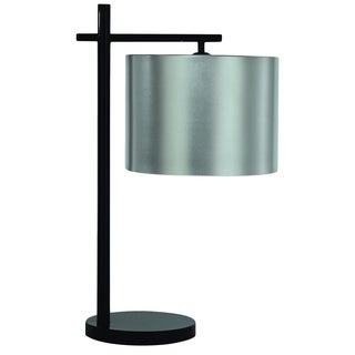 'Pluto' Modern Silver Aluminum Table Lamp