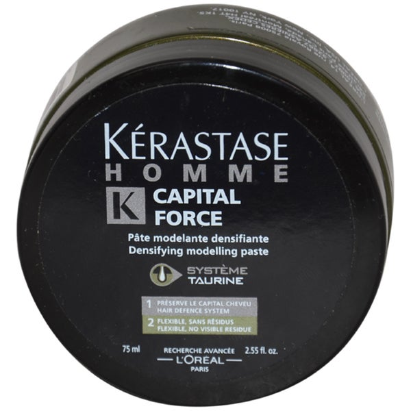 Homme Capital Force Densifying Modeling Paste by Kerastase for Men - 2.55 oz Paste