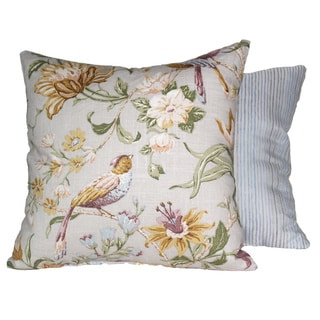Timeless Garden Lavender Throw Pillows (Set of 2)