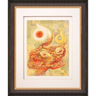Abraham Rattner 'Autumn' Lithograph Framed
