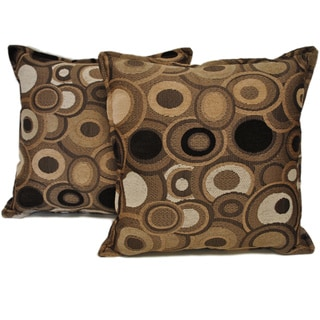 Sherry Kline Allyson Cocoa Decorative Pillow (Set of 2)