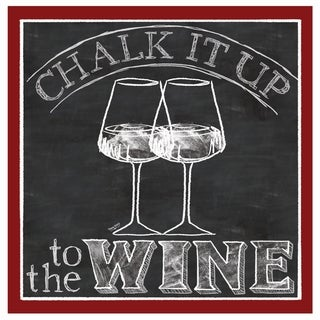 Chalk it Up to the Wine Drink Coaster Set