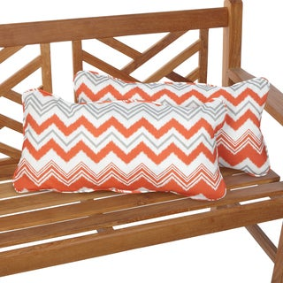 Tango Zazzle 12 x 24 Inch Indoor/ Outdoor Lumbar Pillows (Set of 2)