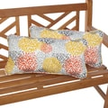 Tango Bloom 12 x 24 Inch Indoor/ Outdoor Lumbar Pillows (Set of 2)