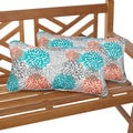 Tropic Bloom 12 x 24 Inch Indoor/ Outdoor Lumbar Pillows (Set of 2)