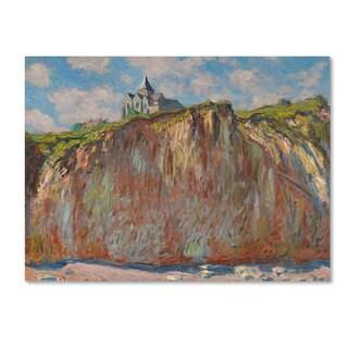 Claude Monet 'Church at Varengeville' Canvas Art