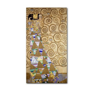 Gustav Klimt 'Expectation 1905-09' Canvas Art