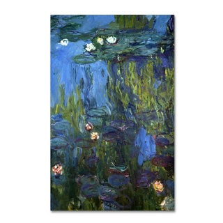 Claude Monet 'Nympheas 1914-17' Canvas Art