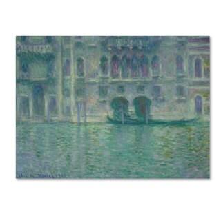 Claude Monet 'Palazzo da Mula Venice 1908' Canvas Art
