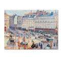 Camille Pissarro 'Place du Havre 1893' Canvas Art