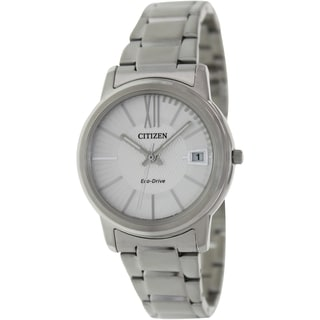Citizen Women's Eco-Drive FE6010-50A Stainless-Steel Silver Dial Quartz Watch