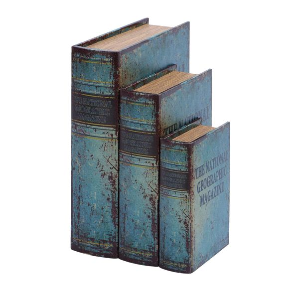 National Geographic Faux Book Box Set