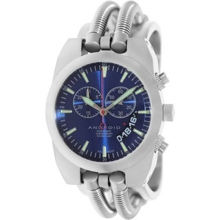 Android Men's Hydraumatic Blue Dial Swiss Chronograph Watch